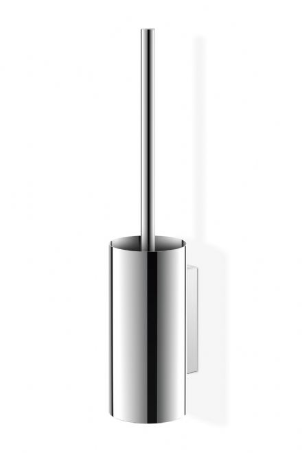 Zack Linea Polished Stainless Steel Toilet Brush Holder - 40026